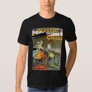 Cycles Peugeot Vintage Bicycle Art Tshirt