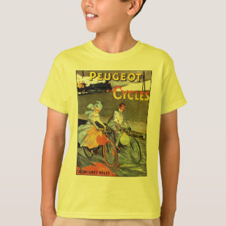 Cycles Peugeot Vintage Bicycle Art Tshirts