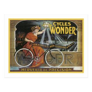 Cycles Wonder Merveille de Precision Postcard