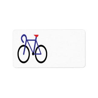 Cycling 3 address label