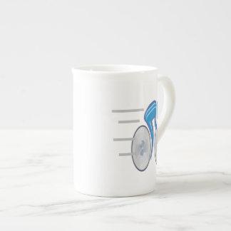 Cycling 4 bone china mug