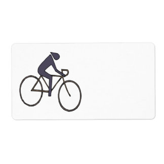Cycling 5 shipping label