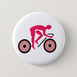 Cycling 6 Cm Round Badge