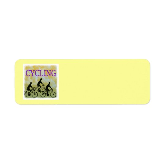 CYCLING Address Labels
