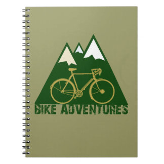 cycling adventure - bikes notebooks