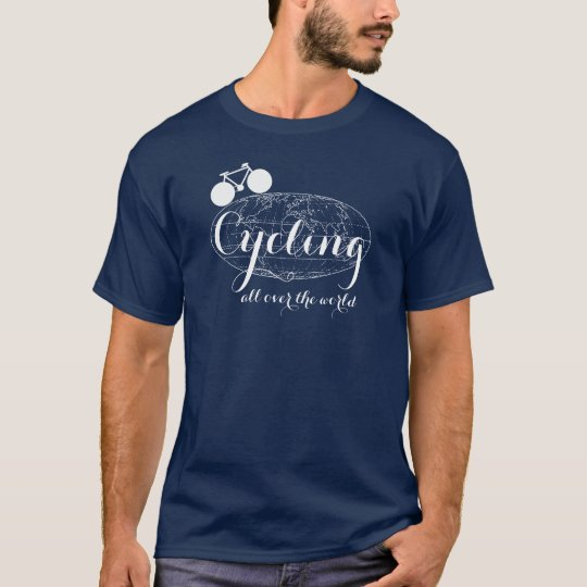 cycling all over the world T-Shirt