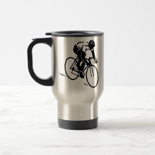Cycling bicycle Biker Travel Mug
