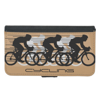 Cycling Bicycling Design Wallet Phone Case