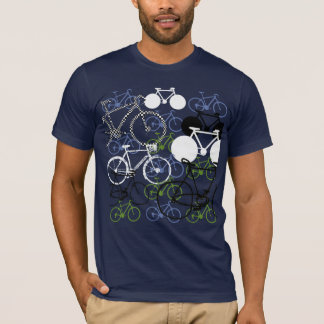 cycling  bikes-composition T-Shirt