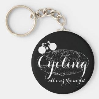 cycling biking cycle bike pedaling key chains