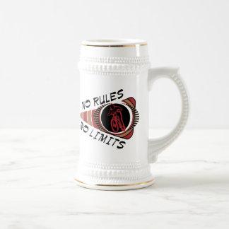 Cycling BMX No Rules No Limits Coffee Mug