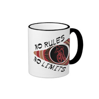 Cycling BMX No Rules No Limits Coffee Mugs