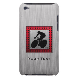Cycling Brushed metal look iPod Touch Cases