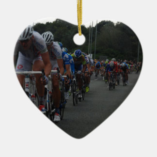 Cycling Christmas Ornament