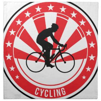 Cycling - Cyclist - Bike - BMX - Sport Napkin