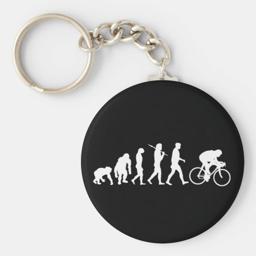 Cycling Cyclists pedal power Racing Bicycle gifts Keychain