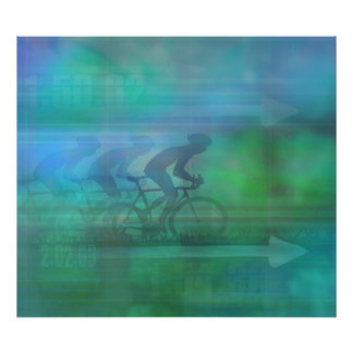 Cycling Design Photo Enlargement