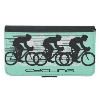 Cycling Design Wallet Case