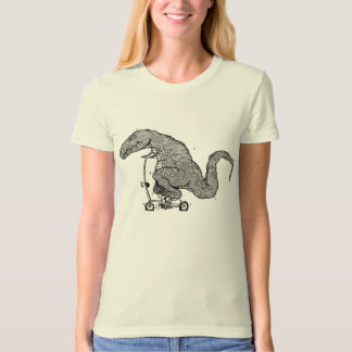 Cycling Dinosaur T-Shirt