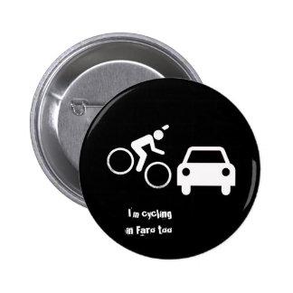 Cycling Faro 6 Cm Round Badge
