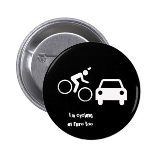 Cycling Faro 6 Cm Round Badge