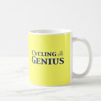 Cycling Genius Gifts Basic White Mug