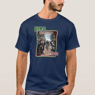 Cycling Giro 1909 Italy flag Retro Vintage Art T-Shirt