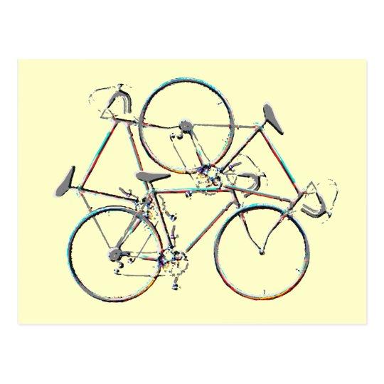 cycling ideas postcard