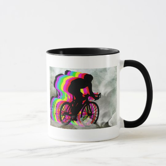 Cycling in the Clouds Mug