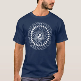 Cycling in the eye of the storm mens athlete cycle T-Shirt