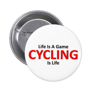 Cycling is Life Pins