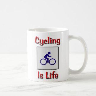 Cycling Is Life Coffee Mug