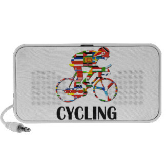 Cycling Laptop Speakers