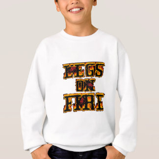 Cycling Legs on Fire Sweatshirt