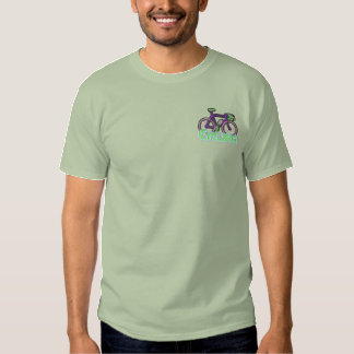 Cycling Logo Embroidered T-Shirt