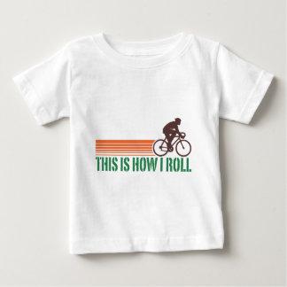 Cycling (male) baby T-Shirt