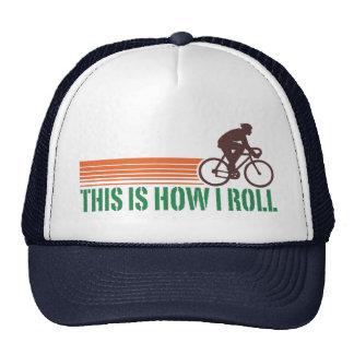 Cycling (male) trucker hats