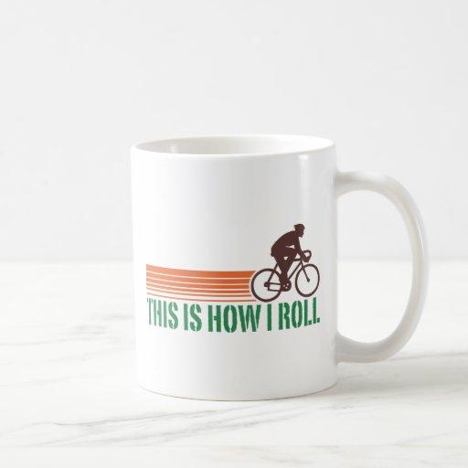 Cycling (male) mug
