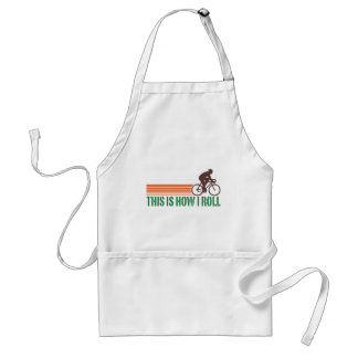 Cycling (male) standard apron