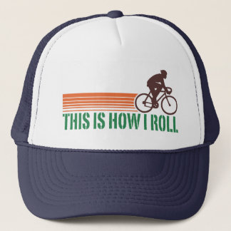 Cycling (male) trucker hat