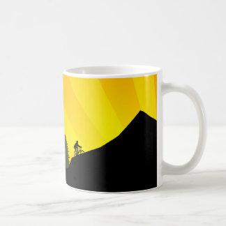 cycling : mountain rayz : basic white mug