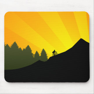 cycling : mountain rayz : mouse mat