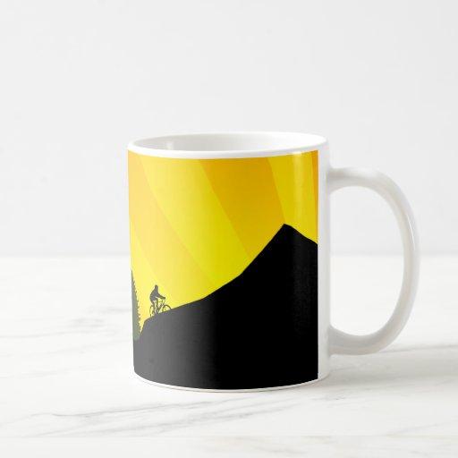 cycling : mountain rayz : mug