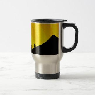 cycling : mountain rayz : stainless steel travel mug