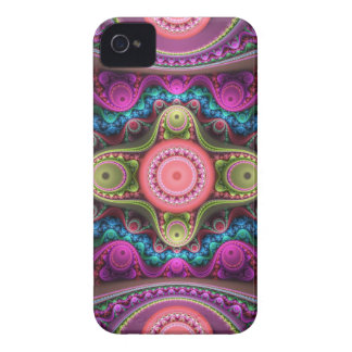 Cycling pastels, artistic abstract iPhone 4 Case-Mate case