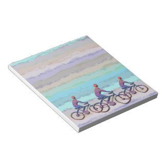CYCLING PATTERN NOTEPAD