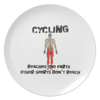 Cycling reaches the parts other sports don't reach dinner plate
