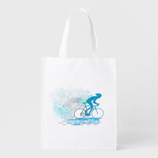 Cycling Reusable Grocery Bag