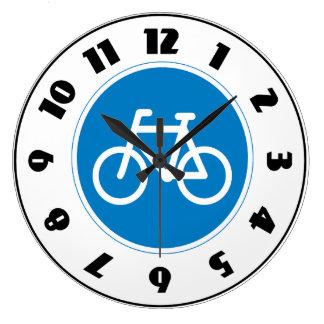Cycling Road Sign Clock