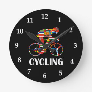 Cycling Round Clock